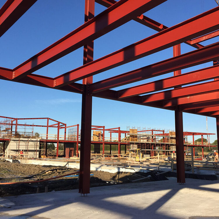 san giuliano - steel frame
