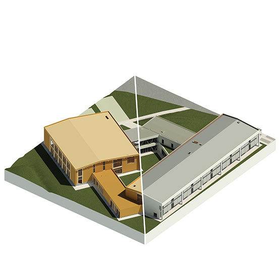 school complex - empoli school complex