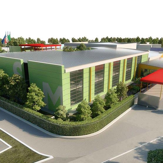 school reconstruction - U.Betti - Camerino
